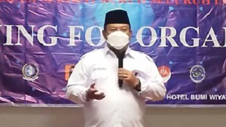 Pesan Sekjend DEN KSBSI, Buka Rakerwil KSBSI DKI Jakarta