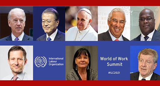 Para pemimpin Dunia Akan Berpidato di Agenda KTT Dunia Kerja ILO