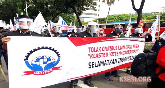 Buruh GARTEKS Siap Demo di Kemnaker, Mendesak Pencabutan SE Penundaan UMP 2021
