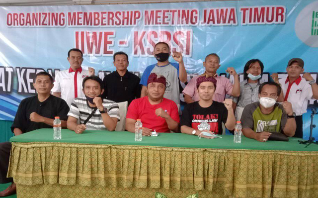 Jawa Timur Menjadi Target Pengembangan Serikat Buruh FSB NIKEUBA