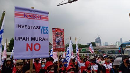 Beberapa Poin Tuntutan KSBSI Pada Peringatan International World Days for Decent Work