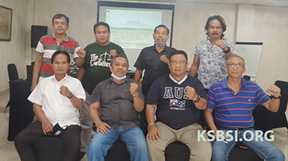 Tim 11 Kuasa Hukum KSBSI Bahas Strategi Judicial Review UU Cipta Kerja