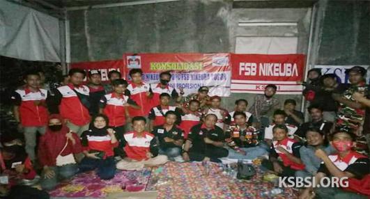 Urusan Membela Buruh, LMPI Bogor Siap Mendukung FSB NIKEUBA