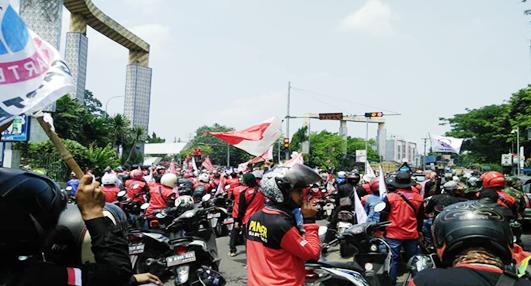DPRD dan Pemkab Serang Mendukung Buruh, Menolak UU Cipta Kerja