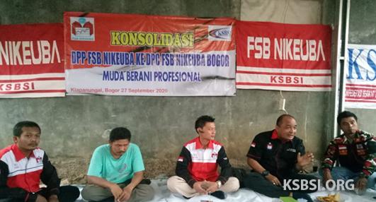 Gelar Agenda Konsolidasi, FSB NIKEUBA Bogor Bakal Unjuk Taring