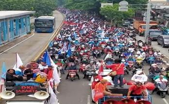 Terkait RUU Ciker, DEN KSBSI Intruksikan 13 Agustus Demo Serentak