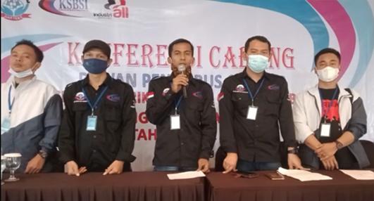 Resmi Dilantik, DPC FSB GARTEKS KSBSI Tangerang Raya Akan Mengedepankan Solidaritas