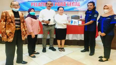 Disela Rakerwil KSBSI Wilayah Lampung, Mandat DPC KAMIPARHO LamTeng Diberikan