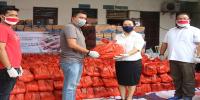 Bersama PT Bank DBS dan Temasek Foundation, KSBSI Kembali Bagikan Sembako