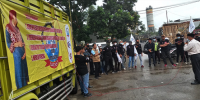 Aktivis GARTEKS KSBSI Tangerang Raya Demo di PT.Universal Luggage Indonesia,Desak Brand Away,Tumi,Briggs dan Riley, Lojel,Bagasi Bertanggung Jawab Union Busting dan PHK Buruh Hamil